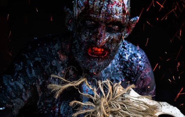 Suomalainen peikkokauhuelokuva Backwood Madness kaipaa apua viimeistä kohtausta varten