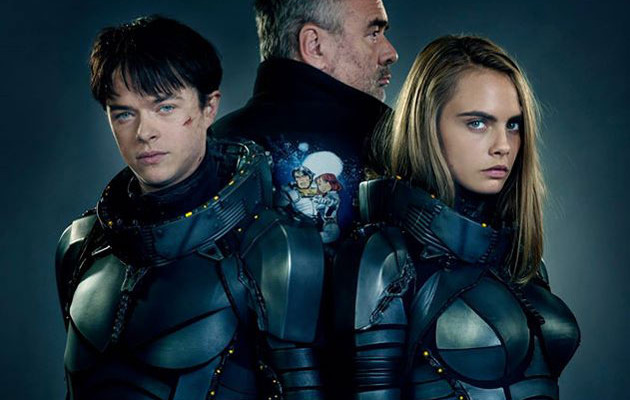 Luc Bessonin scifi-leffa Valerian ensi-illassa kesällä – uusi suomalaisjuliste julkaistu