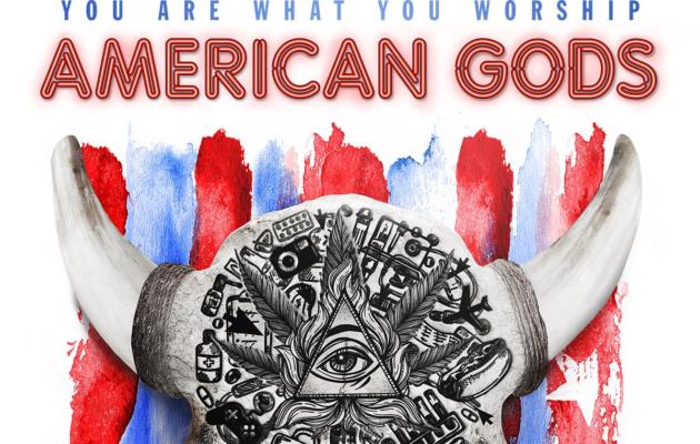 Uudet julisteet esittelevät Neil Gaimanin American Gods -sarjan jumalat