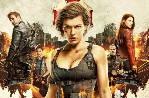 Viimeinen juliste (Milla Jovovichin) viimeisestä Resident Evil -elokuvasta