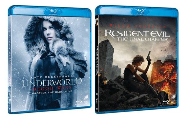 Uusimmat Resident Evil- ja Underworld -elokuvat Suomeen pahasti jälkijunassa
