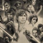 Kuva: Star Warsin 40-vuotisjulisteesta puuttuu monta tuttua hahmoa