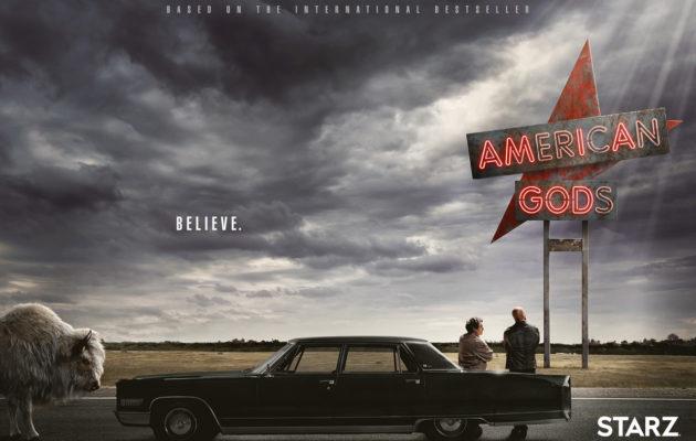 Vanhat jumalat vs. uudet jumalat: Neil Gaimanin American Gods -fantasiasarjasta julkaistiin traileri