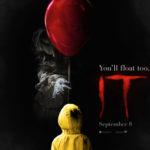 Pennywise-pelle ojentaa pallon Se-kauhuelokuvan julisteessa – traileri luvassa tänään