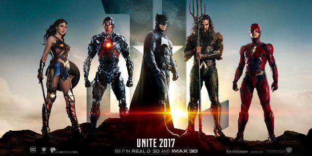 Loputkin Justice League -julisteet julkaistu – supersankarileffan traileri julki tänään