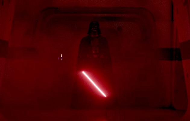Omiaan murhaava Darth Vader leikattiin pois Rogue One -leffasta