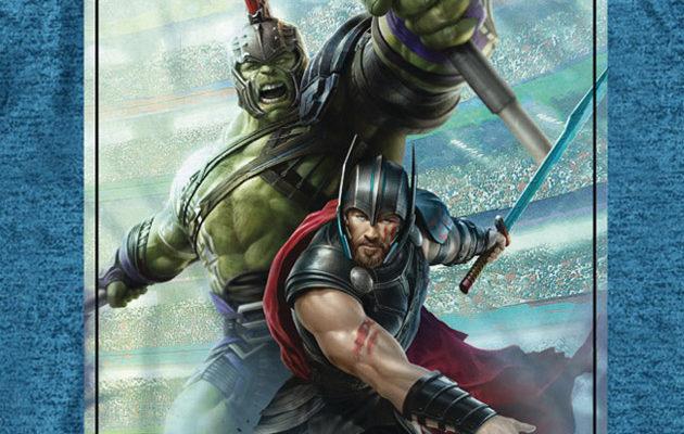 Kuvat: T-paidat paljastavat uusia kuvia Thor 3:n gladiaattori-Hulkista