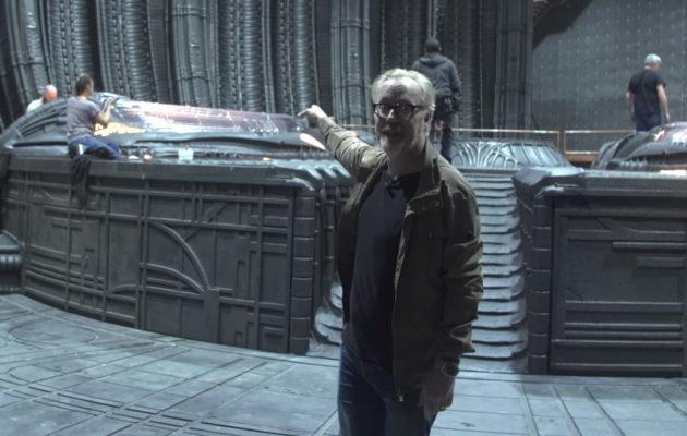 Myytinmurtaja Adam Savage sekosi Alien-elokuvan kuvauspaikalla