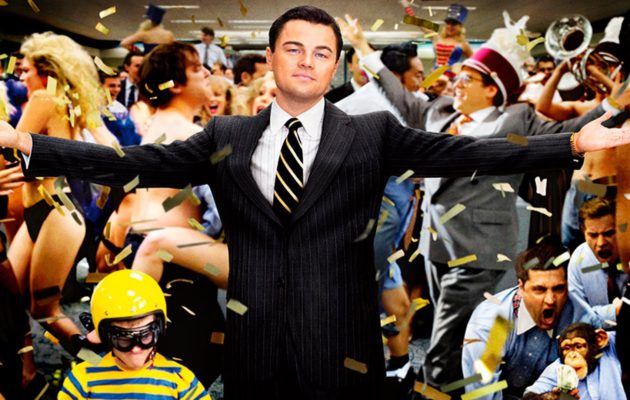 Leonardio DiCaprio sikailee koko rahan edestä: Loistava The Wolf of Wall Street tänään tv:ssä