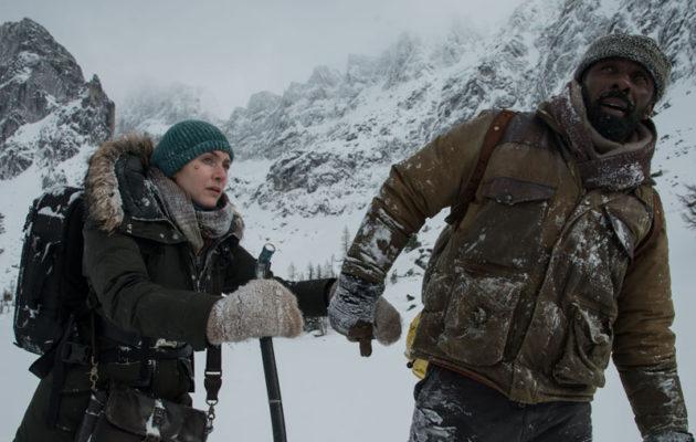 Ensimmäinen The Mountain Between Us -traileri: Idris Elba ja Kate Winslet lumisten vuorien vankina