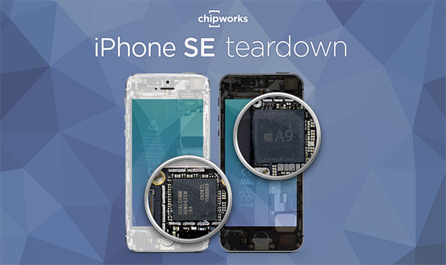 Apple iPhone SE Teardown