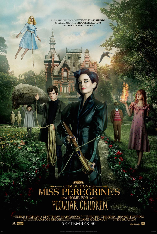 Neiti Peregrinen koti eriskummallisille lapsille