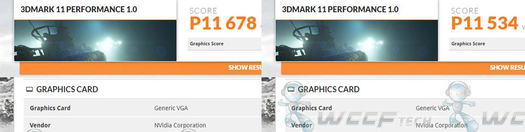 NVIDIAn tunnistamattoman näytönohjaimen 3DMark-tulos