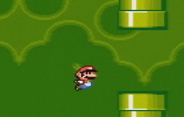 Super Mario Flappy Bird