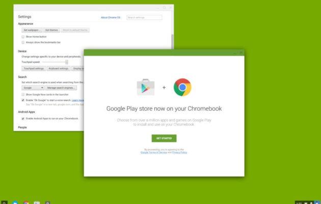 Google Play -kauppa on tulossa myös Chrome OS:lle