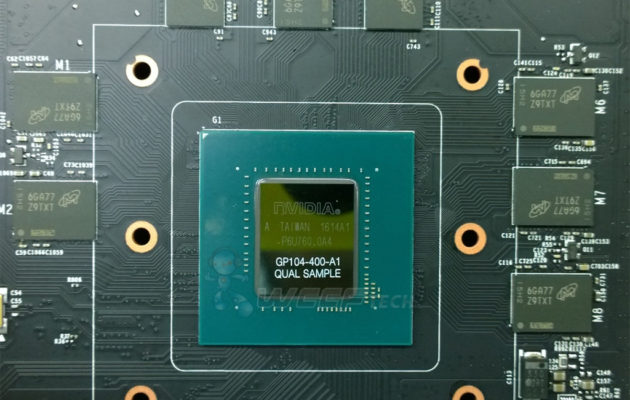 NVIDIA GeForce GP104 GDDR5X