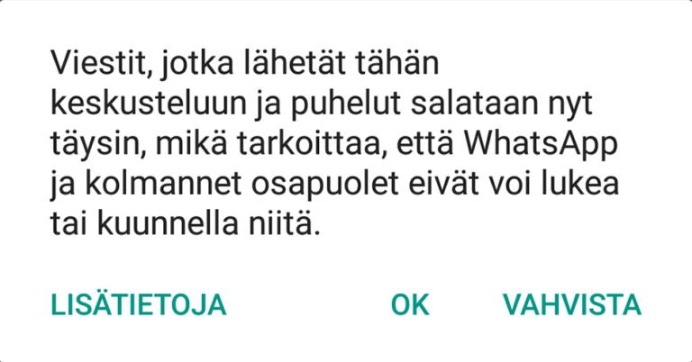WhatsApp-salaus