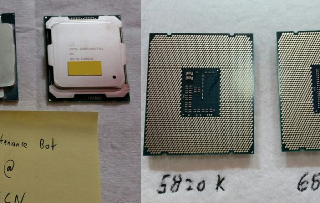 Intel Core i7-5820K ja i7-6850K