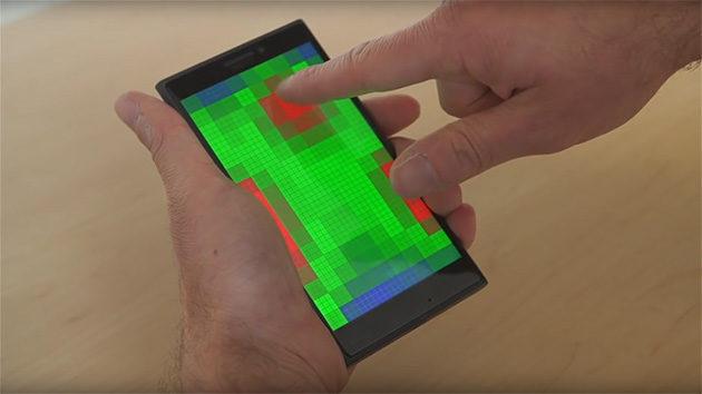 Microsoft Pre-touch -teknologia