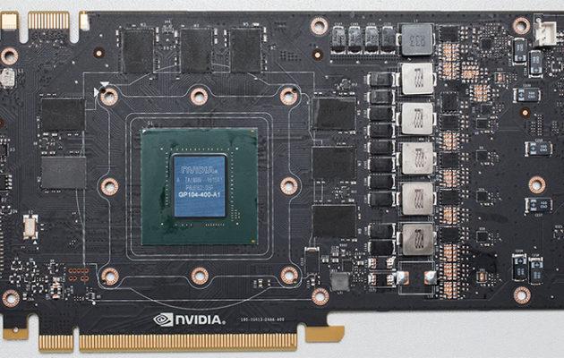 GeForce GTX 1080 referenssipiirilevy