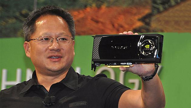 NVIDIAn toimitusjohtaja Jen-Hsun Huang
