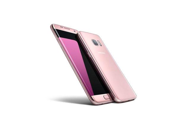 Pinkki Galaxy S7
