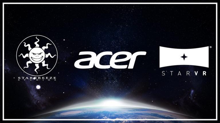Starbreeze + Acer = StarVR