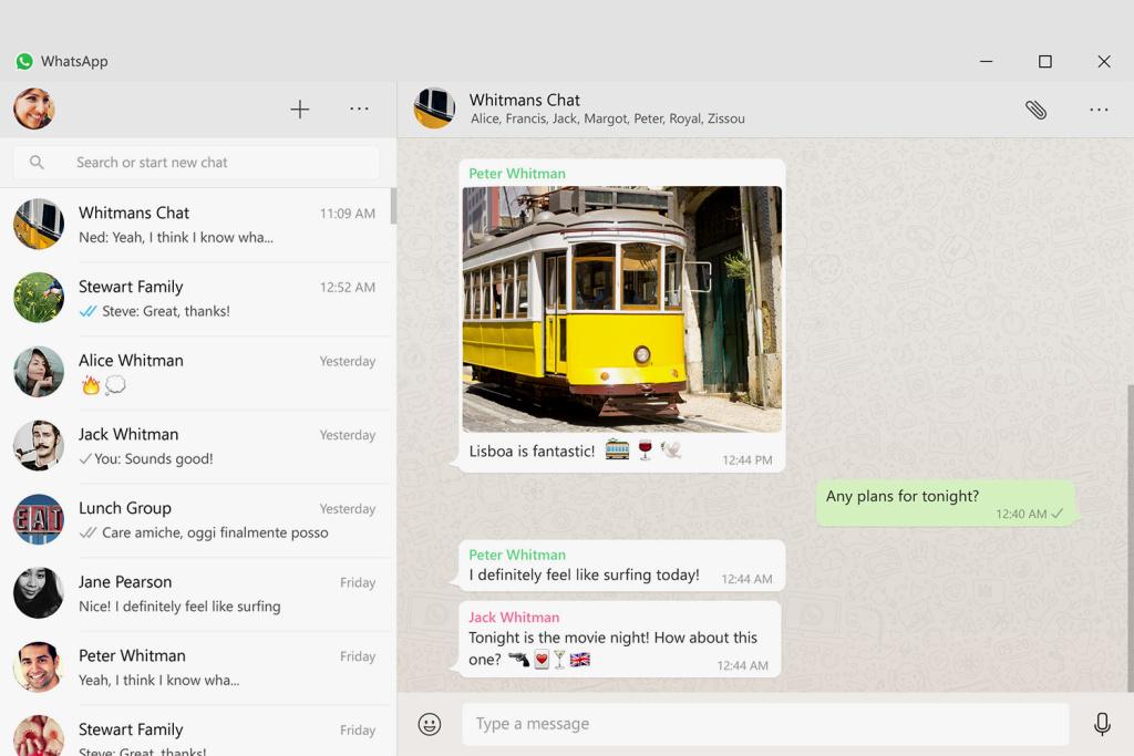 Whatsapp tietokoneella
