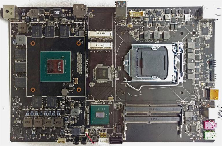 Colorfulin B150-emolevy integroidulla GeForce GTX 1070 -näytönohjaimella