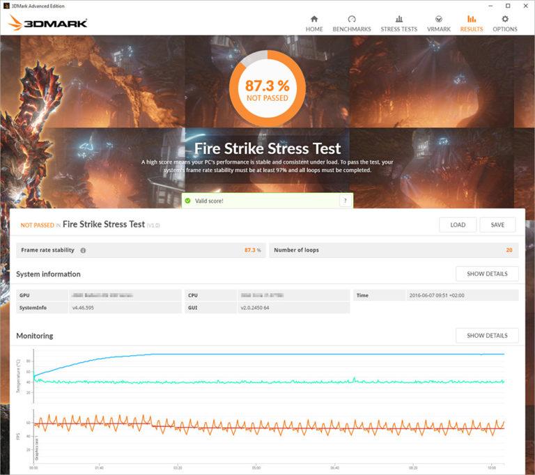 3DMark Stress Test