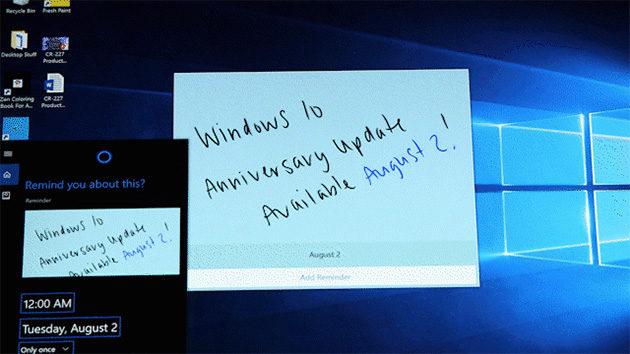 Windows 10 Anniversary julkaisupäivä
