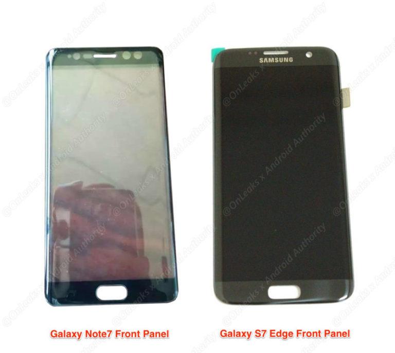 Galaxy Note7 -kuvavuoto