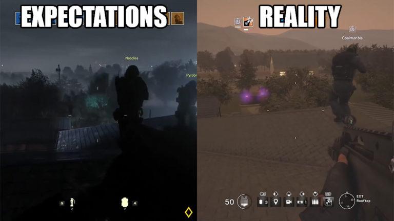 Ubisoft: Expectations vs Reality