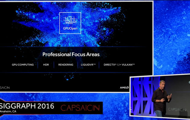 AMD GPUOpen Professional Focus Areas