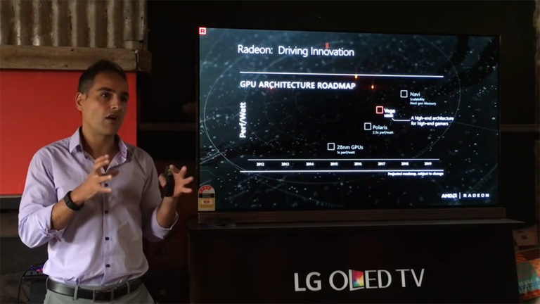 AMD Radeon -roadmap