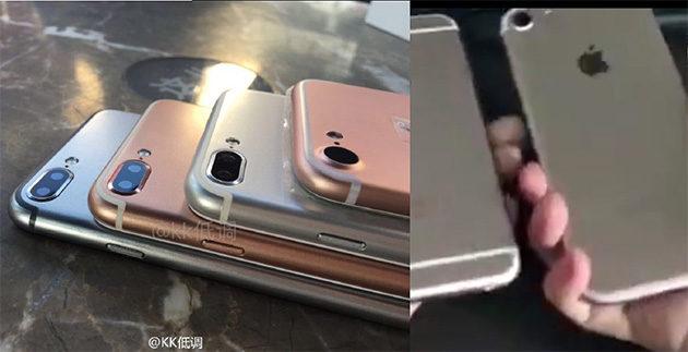 Tulevia iPhone -malleja rivissä