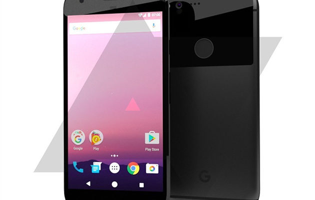 HTC / Google Nexus Sailfish -konseptirenderöinti