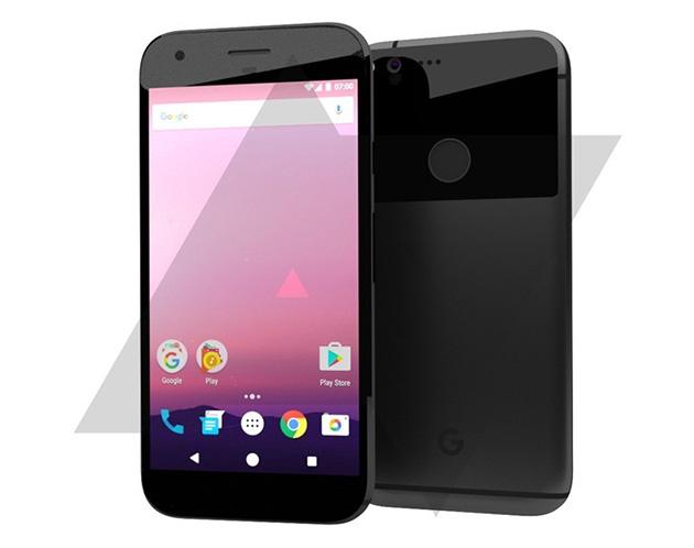 HTC / Google Nexus Sailfish -konseptirenderöinti
