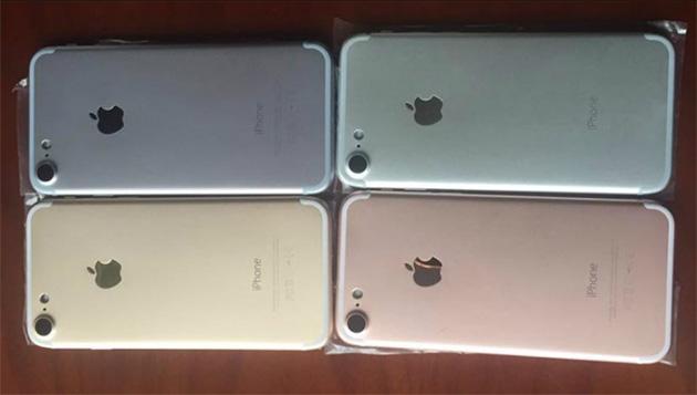 iPhone 7:n värivaihtoehdot