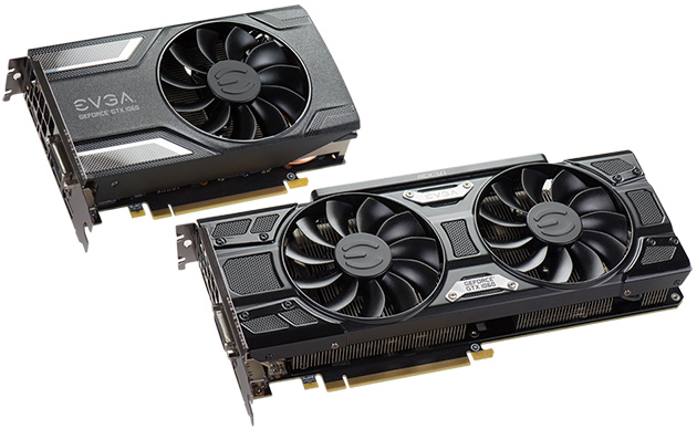 EVGA GeForce GTX 1060 -mallit