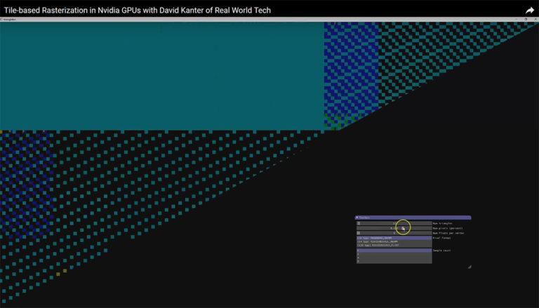 NVIDIAn tiili-pohjainen renderöinti