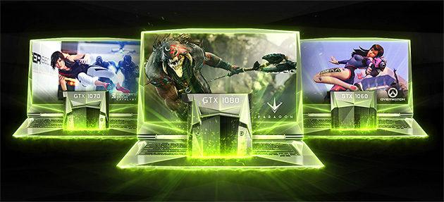 NVIDIA GeForce 10 -sarja kannettaville