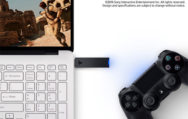 PlayStation DualShock 4 PC:lle