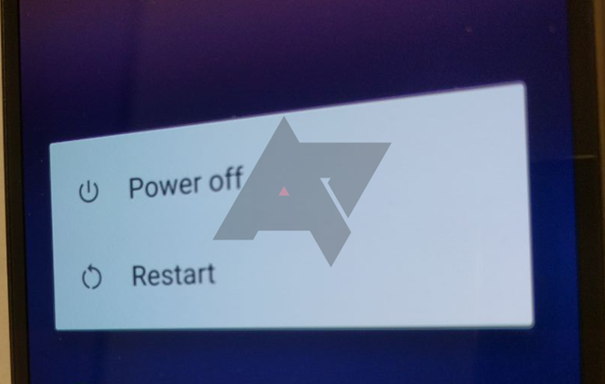 Pixel restart-painike