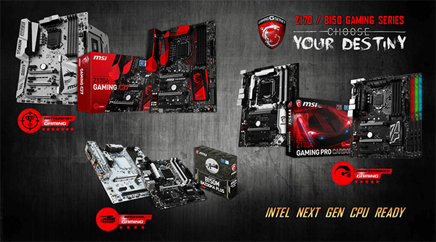 MSI:n Kaby Lake -mainos