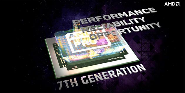 AMD 7. sukupolven PRO-APU-piirit