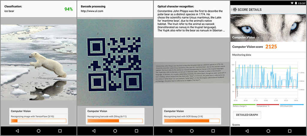 PCMark for Android Computer Vision