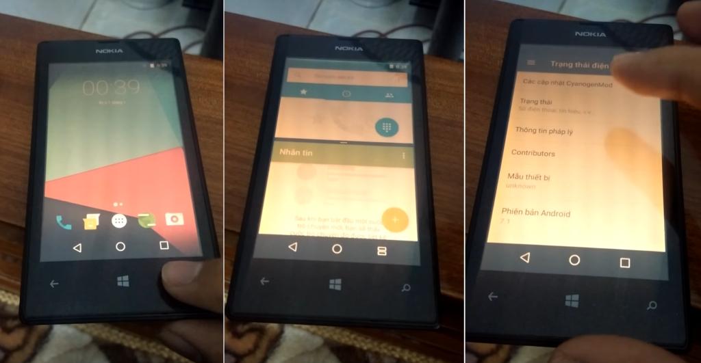 Android 7 1 Nougat pyörii myös vanhalla Lumia 520