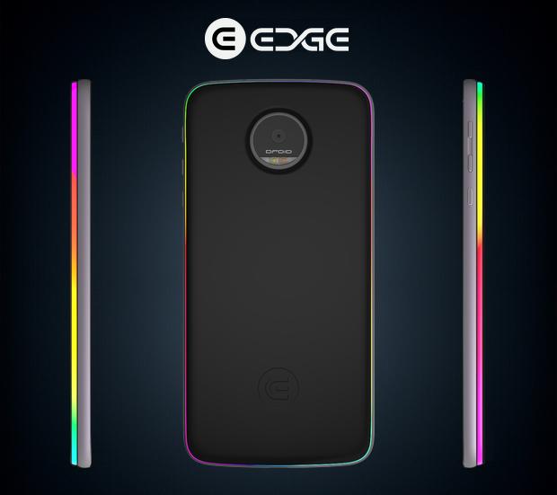 Imagine Tech edge RGB valaistus
