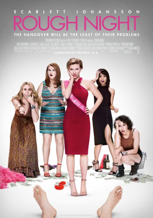 Arvostelu: Scarlett Johanssonin Rough Night tekee vaikutuksen – törkykomedia kun ei naurata kertaakaan